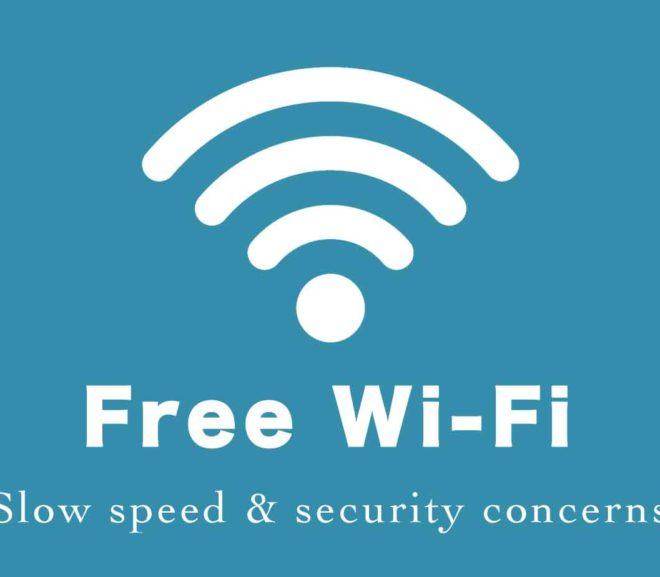 フリーWi-Fiの速度が遅い&セキュリティ不安を解決する方法